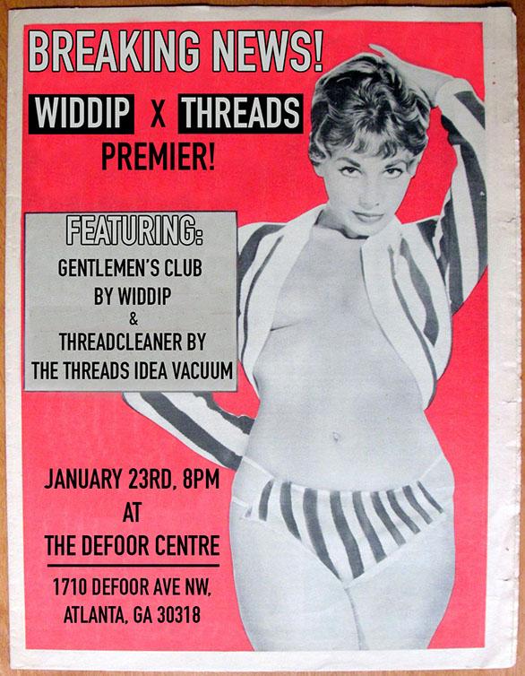 Widdip Premiere Flyer