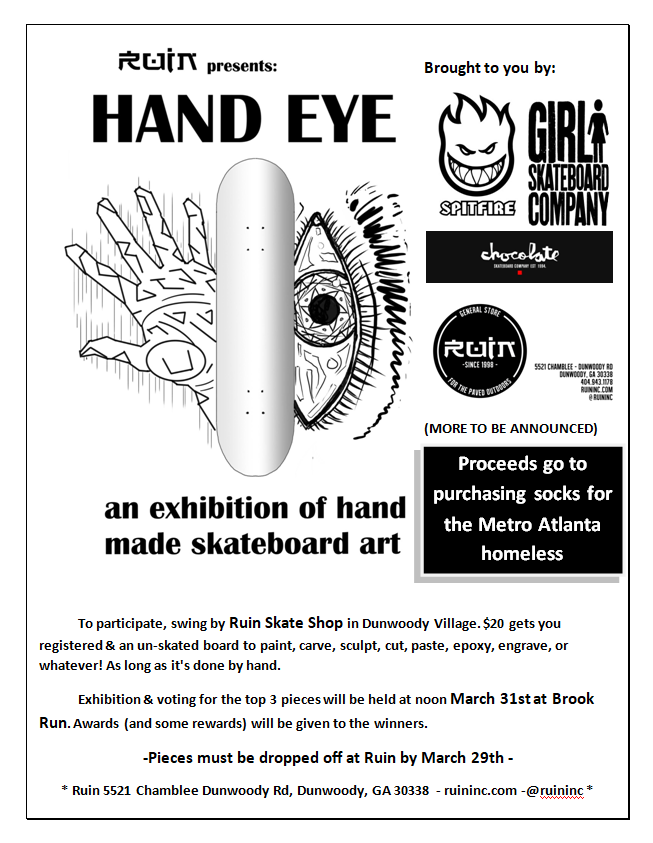 Hand Eye Flyer big w sponsors